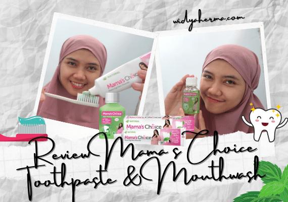 Review Mama's Choice Toothpaste, Pasta Gigi Tanpa Deterjen SLS