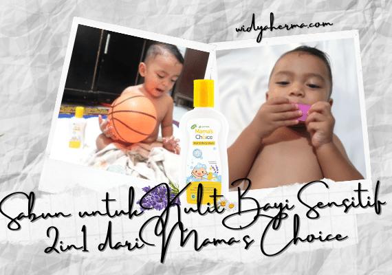 Sabun untuk Kulit Bayi Sensitif 2in1 dari Mama's Choice