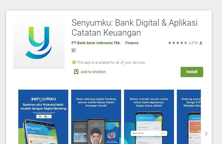aplikasi tabungan online bebas biaya admin