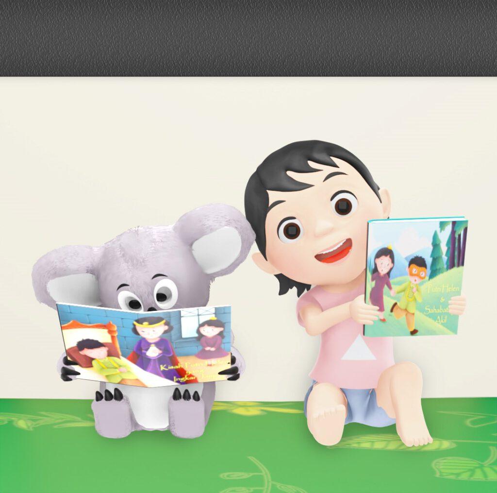 channel animasi lagu anak